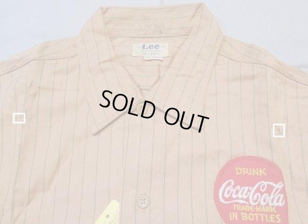 画像3: 50's Lee Coca-Cola 半袖シャツ