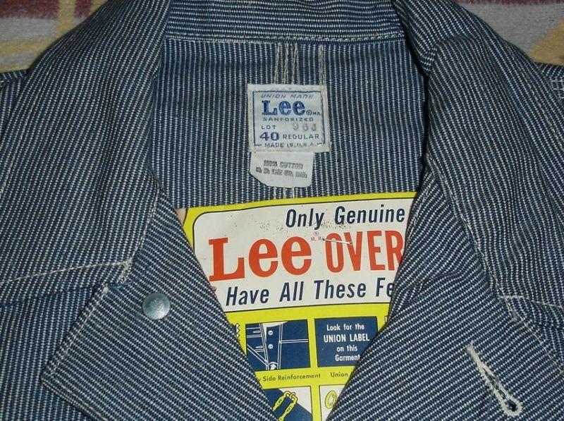 画像2: Lee 96J DEAD STOCK