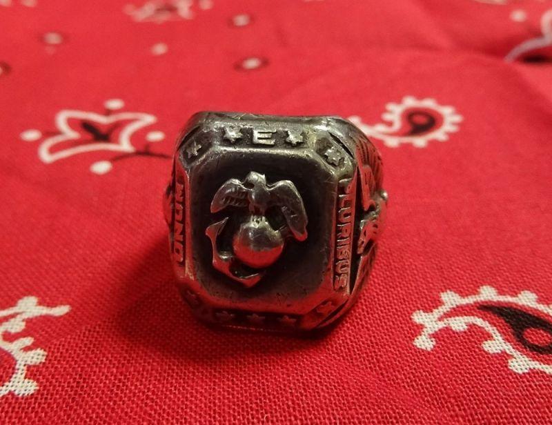 画像5: USMC Silver Ring