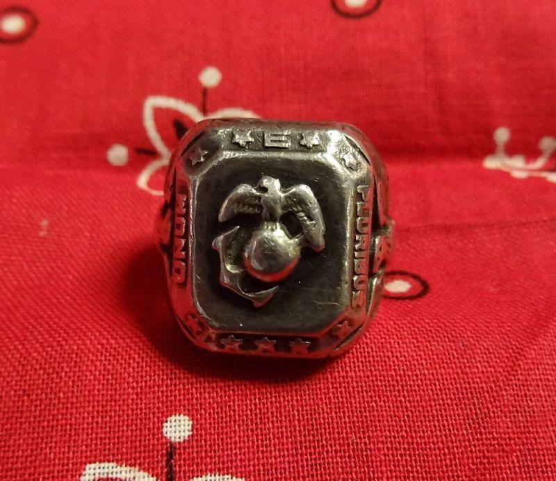 画像1: USMC Silver Ring