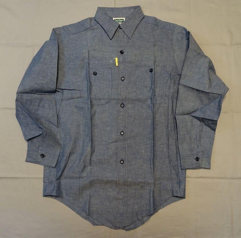 画像2: Dead Stockブルーシャンブレーシャツ
