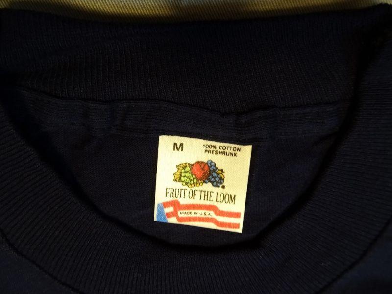 画像2: 80's FRUIT OF THE LOOM POCKET T-Shirt Dead Stock