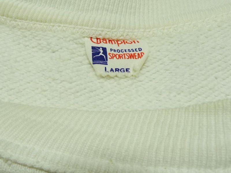 画像3: 50年代 Championランナータグ フロッキープリント入りスエットシャツ