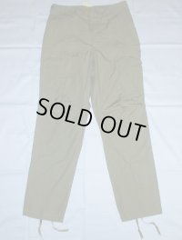1970' OG107 Poplin Trousers Dead Stock