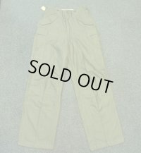 NOS 50's M-1951Trousers