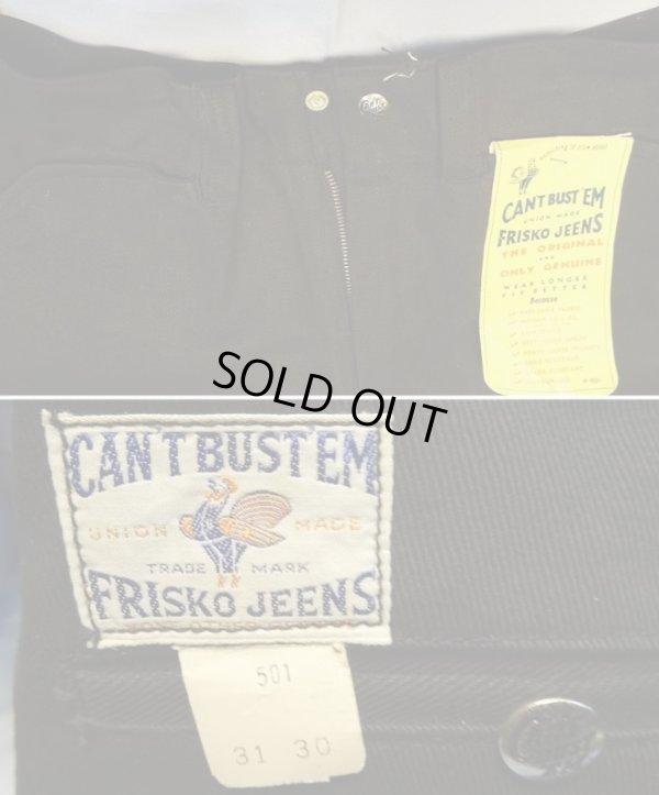 画像1: CAN'T BUT'EM FRISCO JEANS Dead Stock