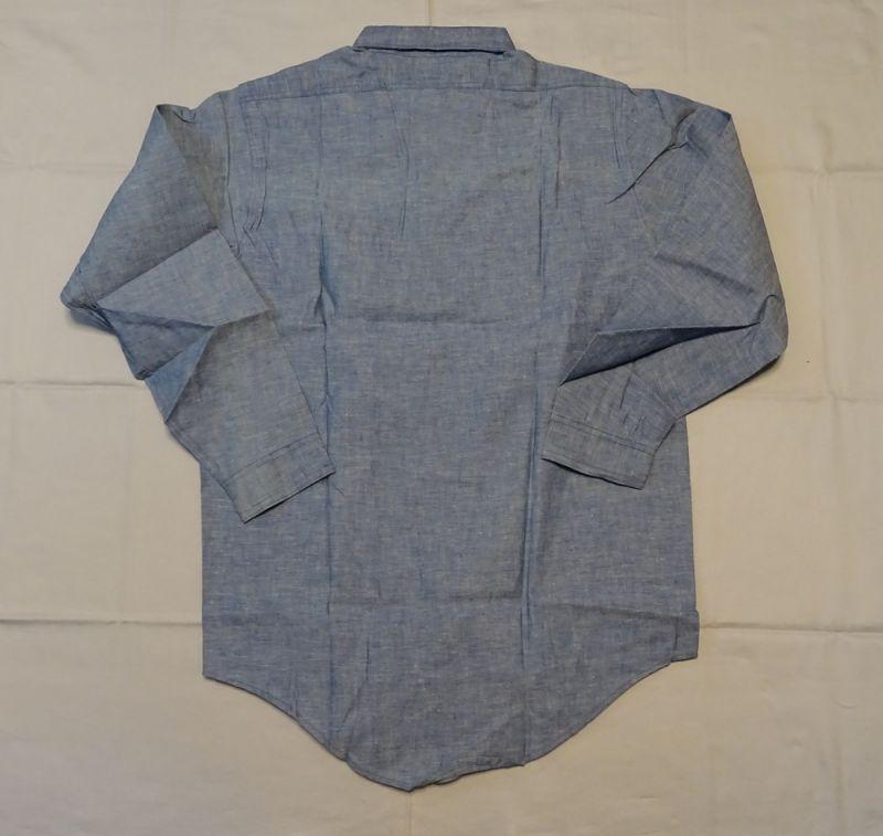 画像3: Dead Stockブルーシャンブレーシャツ