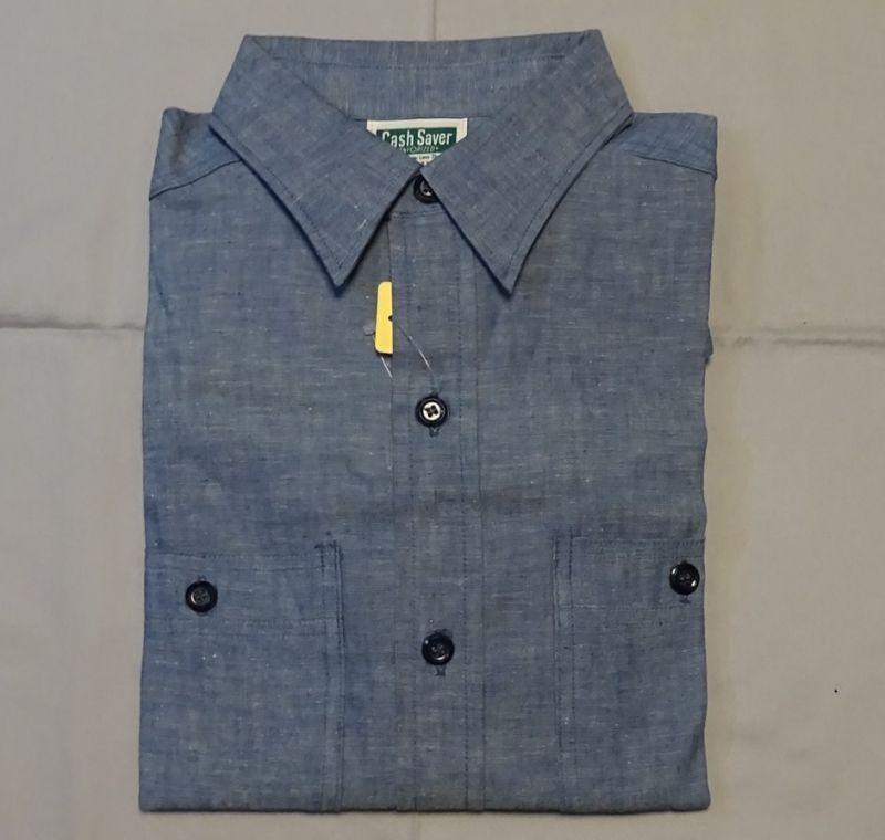 画像4: Dead Stockブルーシャンブレーシャツ